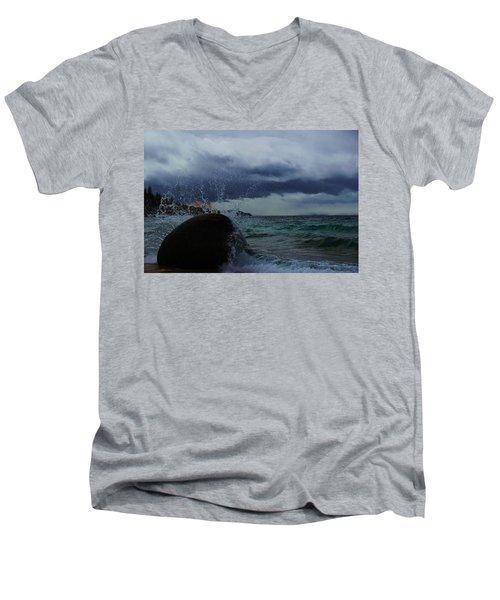 Get Splashed Men's V-Neck T-Shirt