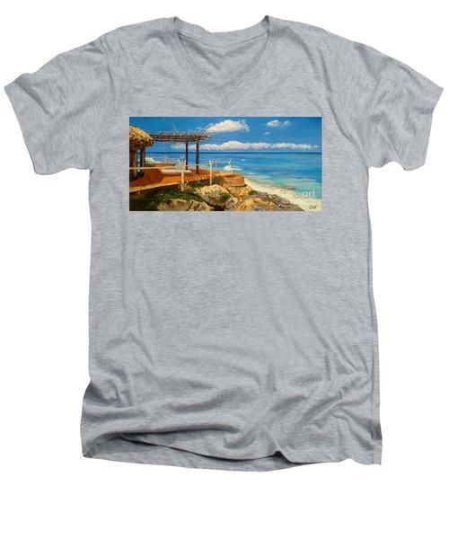 Getaway Men's V-Neck T-Shirt