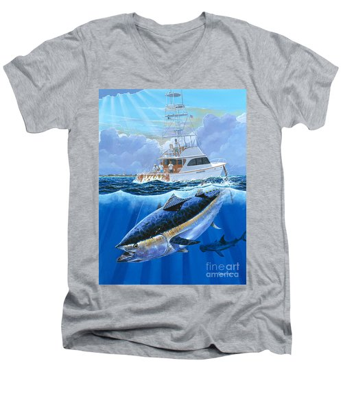 Giant Bluefin Off00130 Men's V-Neck T-Shirt