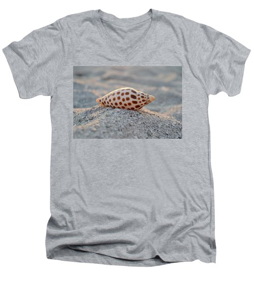 Men's V-Neck T-Shirt featuring the photograph Gift From The Sea by Melanie Moraga