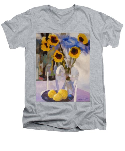 Gifts Of The Sun Men's V-Neck T-Shirt by Susan Duda