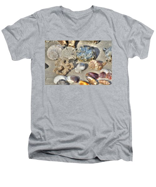 Gifts Of The Tides Men's V-Neck T-Shirt by Benanne Stiens