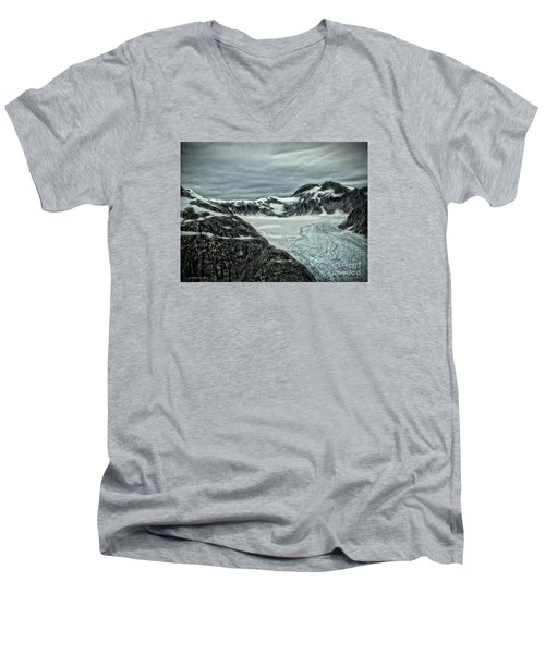 Glacier Men's V-Neck T-Shirt