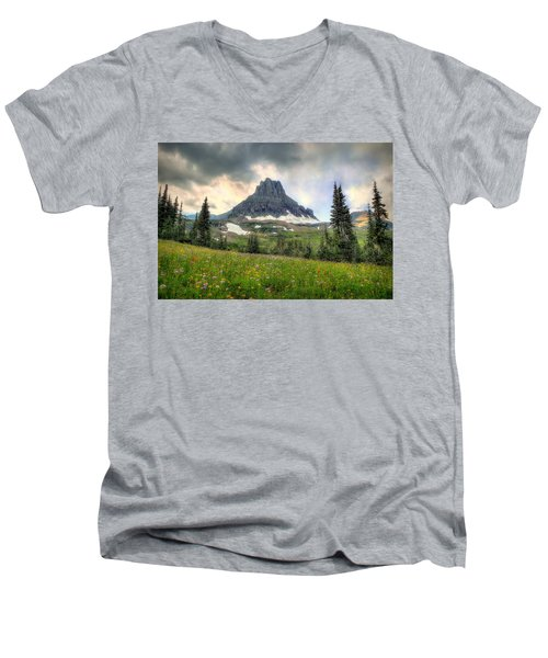 Glacier Meadows Men's V-Neck T-Shirt