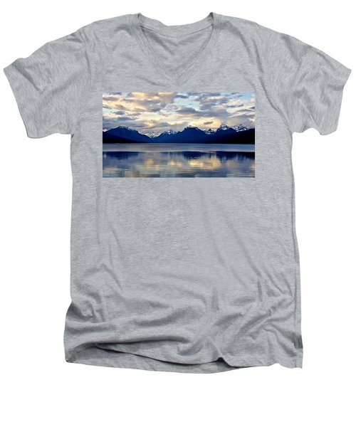 Glacier Morning Men's V-Neck T-Shirt