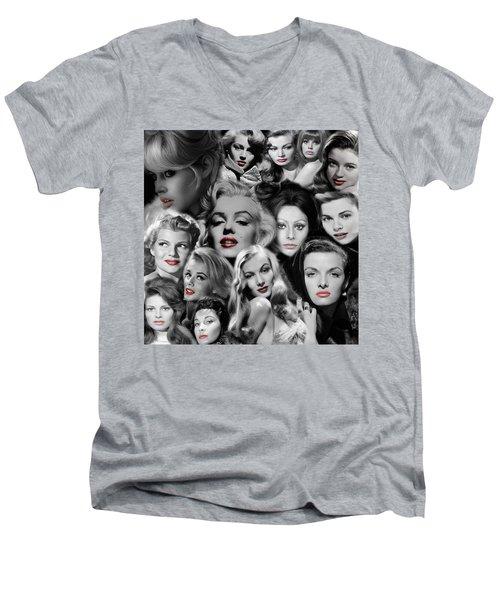Glamour Girls 1 Men's V-Neck T-Shirt