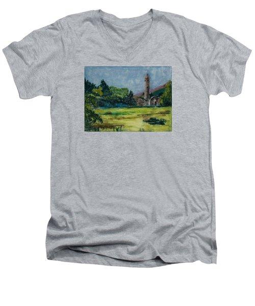 Glendalough Men's V-Neck T-Shirt