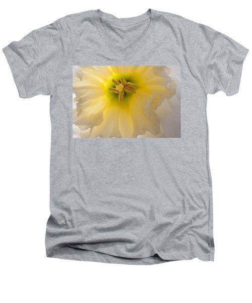 Glowing Daffodil Men's V-Neck T-Shirt