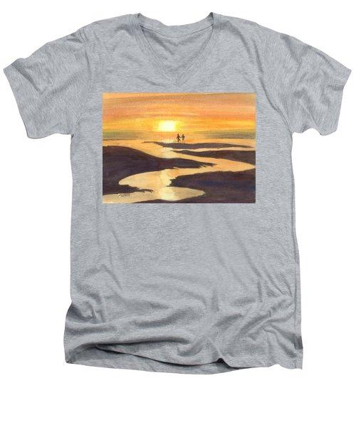 Glowing Moments Men's V-Neck T-Shirt