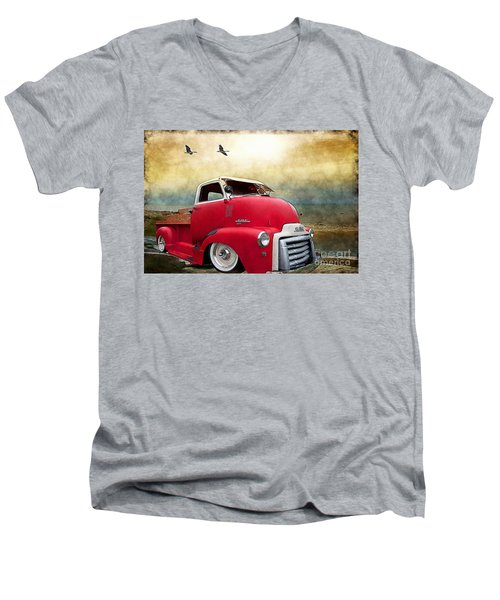Gmc 350 Men's V-Neck T-Shirt