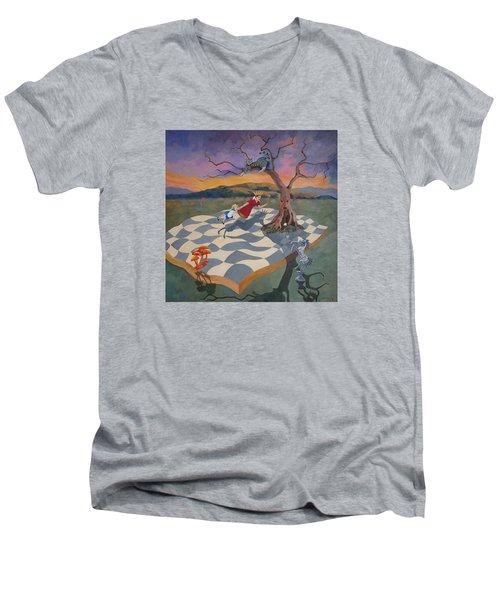 Go Ask Alice Men's V-Neck T-Shirt