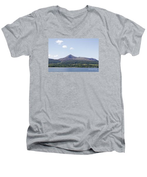 Goat Fell Isle Of Arran Scotland Men's V-Neck T-Shirt