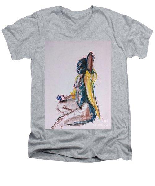 Goddess Men's V-Neck T-Shirt