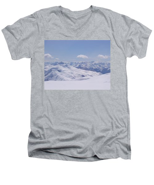 Gods Country Men's V-Neck T-Shirt by Brian Williamson