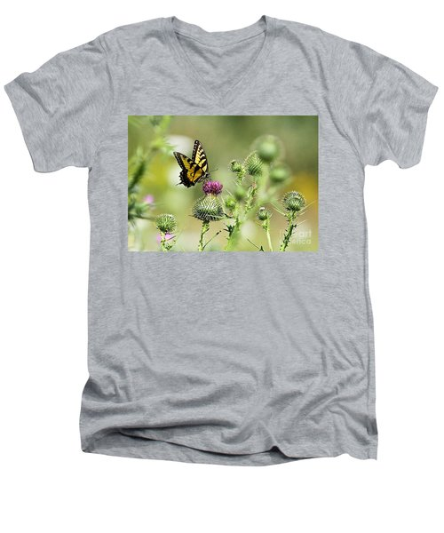 Men's V-Neck T-Shirt featuring the photograph Gods Creation-19 by Robert Pearson
