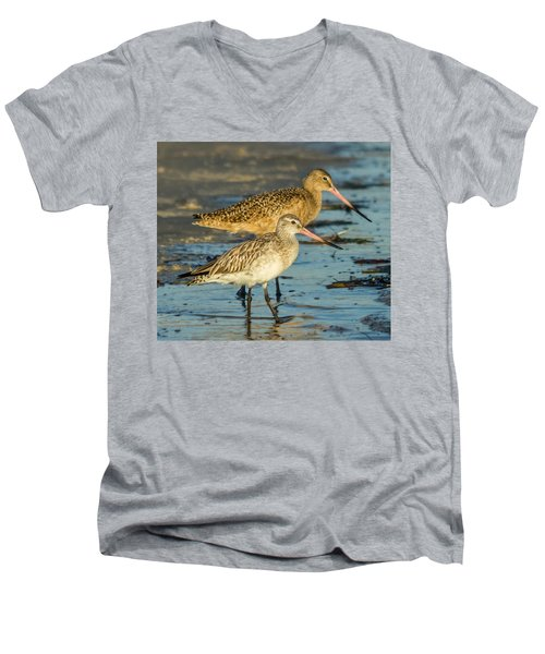 Godwits Men's V-Neck T-Shirt