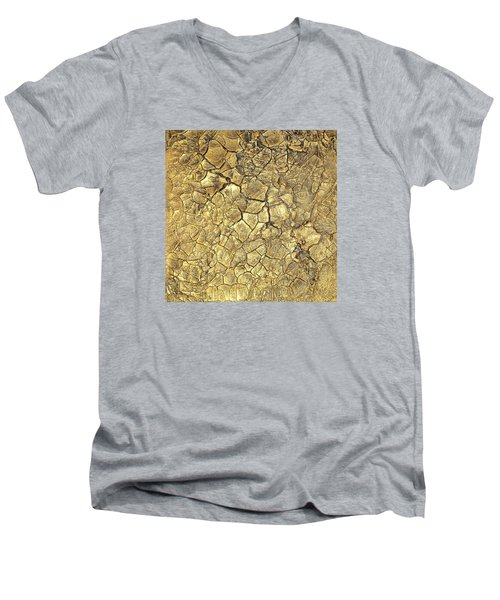 Gold Fever 1 Men's V-Neck T-Shirt