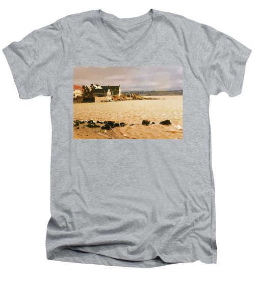 Golden Afternoon Men's V-Neck T-Shirt