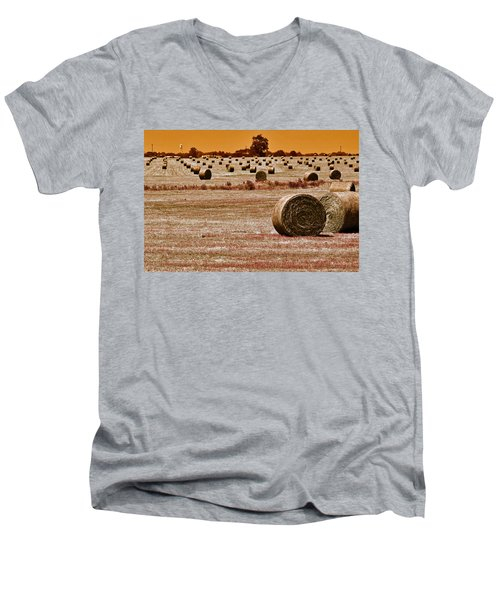 Golden Country Men's V-Neck T-Shirt