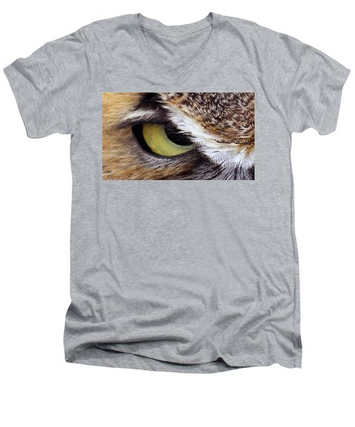 Golden Eye  Men's V-Neck T-Shirt