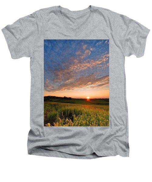 Golden Fields Men's V-Neck T-Shirt