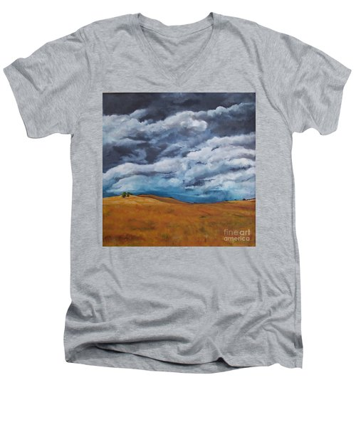 Golden Fields Men's V-Neck T-Shirt