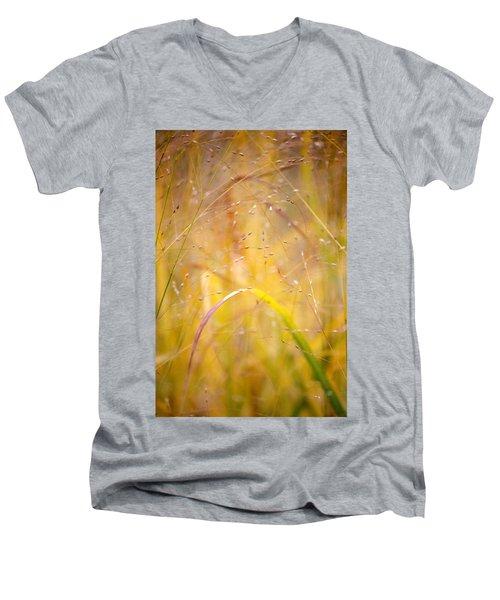 Golden Grass Men's V-Neck T-Shirt