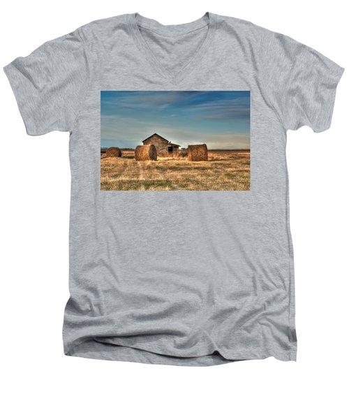 Golden Hay Men's V-Neck T-Shirt