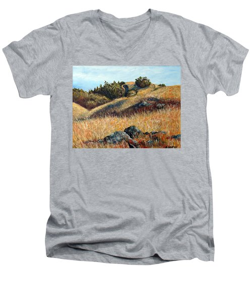 Golden Hills Men's V-Neck T-Shirt