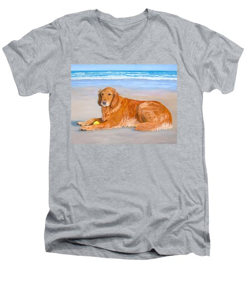 Golden Murphy Men's V-Neck T-Shirt