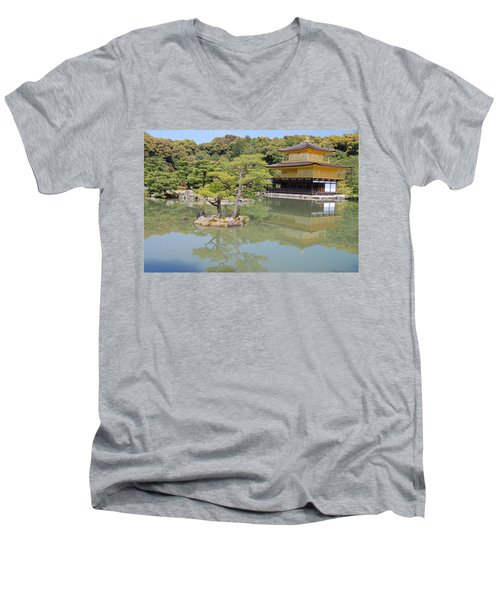 Golden Pavilion Men's V-Neck T-Shirt
