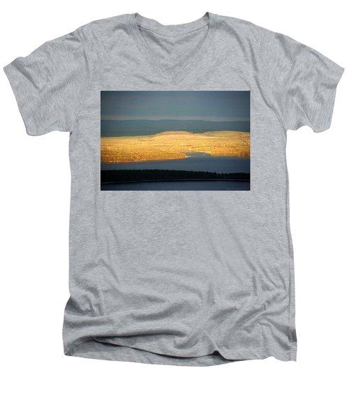Golden Shores Men's V-Neck T-Shirt