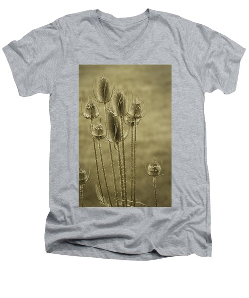 Golden Thistles Men's V-Neck T-Shirt