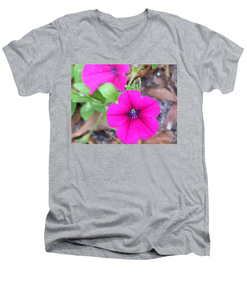 Men's V-Neck T-Shirt featuring the photograph Good Morning by Andrea Anderegg