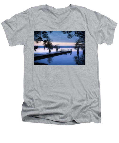 Good Morning For Fishing Men's V-Neck T-Shirt