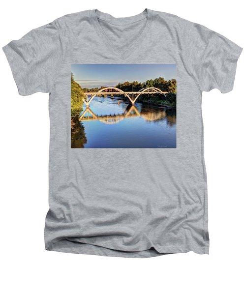 Good Morning Grants Pass II Men's V-Neck T-Shirt
