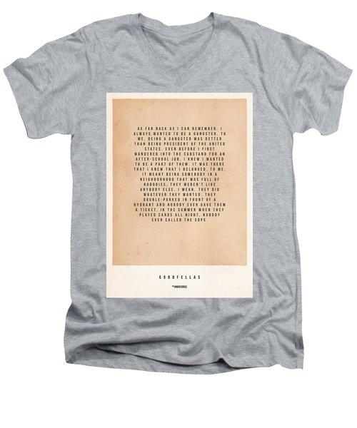 Goodfellas Men's V-Neck T-Shirt