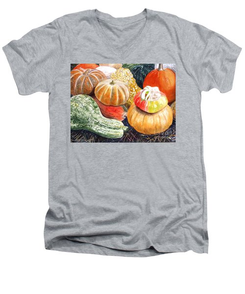 Gourds Men's V-Neck T-Shirt