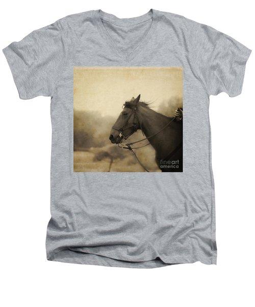 Graceful Beauty Men's V-Neck T-Shirt