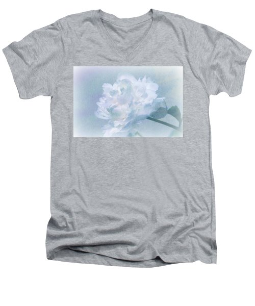 Gracefully Men's V-Neck T-Shirt by Barbara S Nickerson