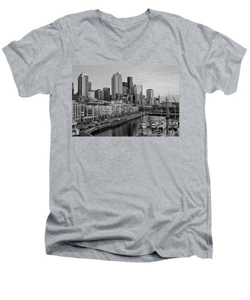 Gracefully Urban Men's V-Neck T-Shirt