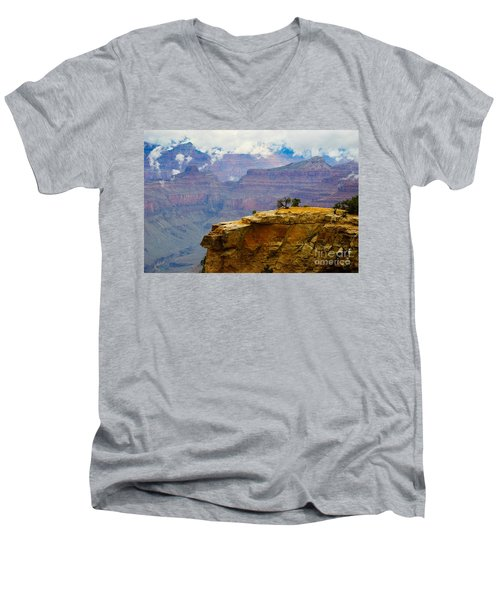 Grand Canyon Clearing Storm Men's V-Neck T-Shirt