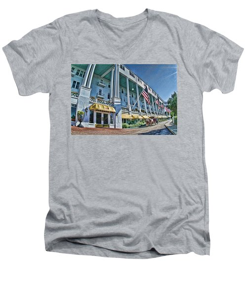 Grand Hotel - Image 001 Men's V-Neck T-Shirt