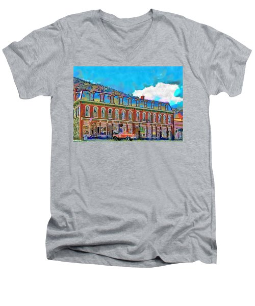 Grand Imperial Hotel Men's V-Neck T-Shirt