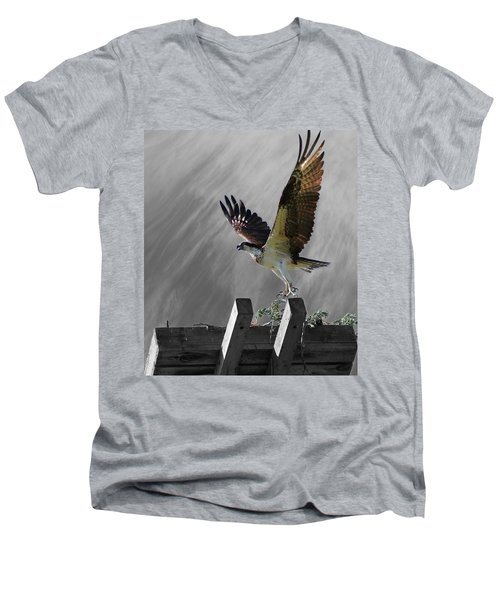 Grand Ole Osprey Men's V-Neck T-Shirt