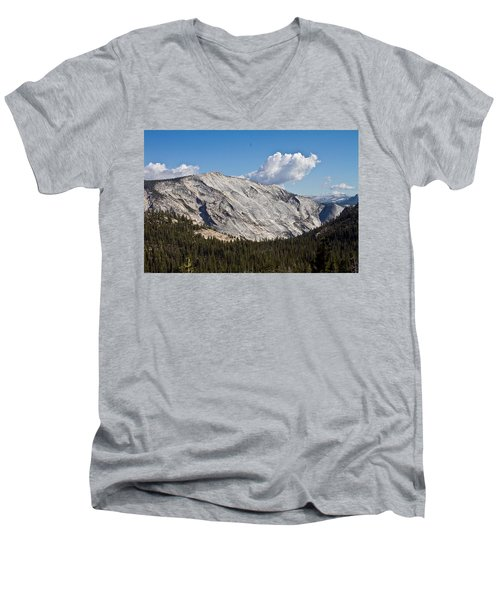 Granite Mountain Men's V-Neck T-Shirt by Brian Williamson