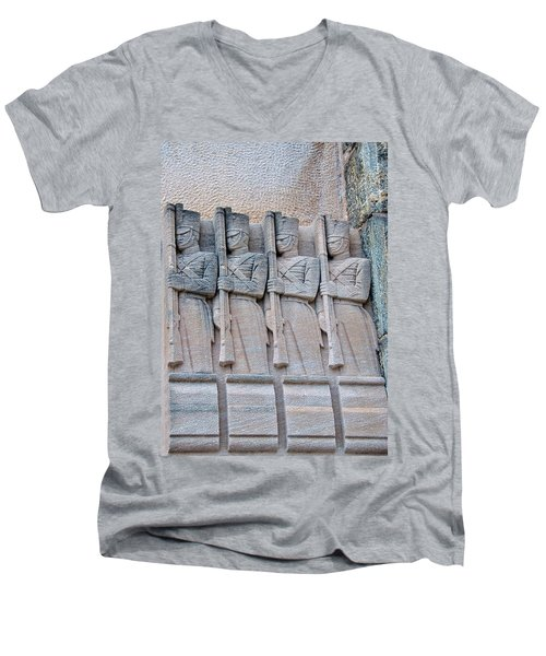 Grant Hall Cadet Fresco Men's V-Neck T-Shirt