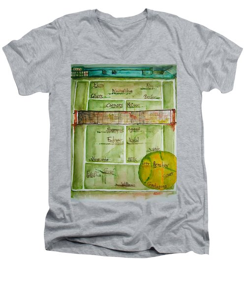 Grass Greats Men's V-Neck T-Shirt