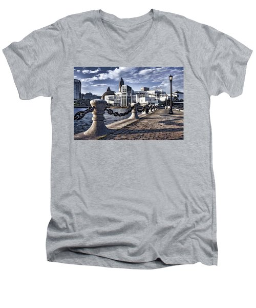 Great Lakes Science Center - Cleveland Ohio - 1 Men's V-Neck T-Shirt
