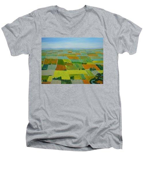 Great Plains Men's V-Neck T-Shirt